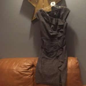 Gray party dress that can even be worn to work